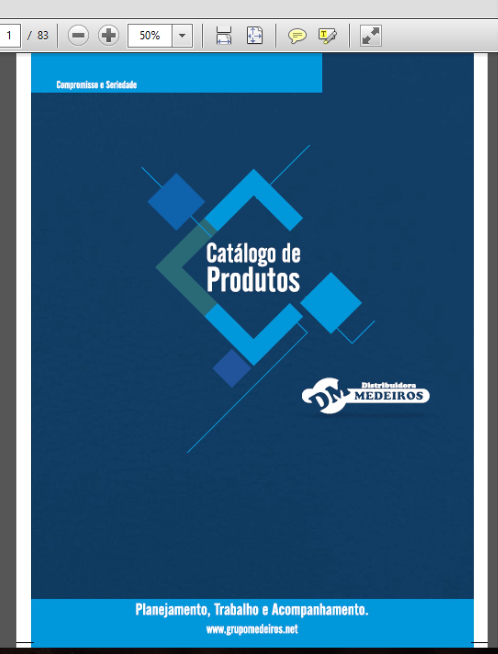 Catálogo Distribuidora Medeiros